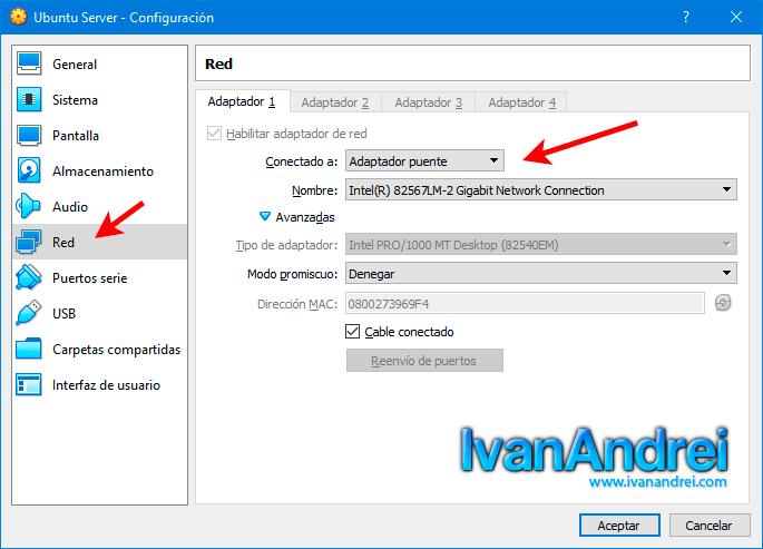 Acceder a una máquina virtual (VM) de VirtualBox desde Internet