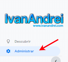 Google Analytics - Administrar