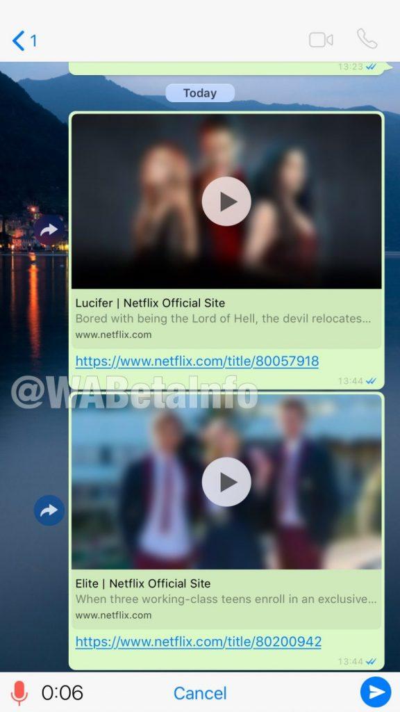 Ver trailers de Netflix desde WhatsApp