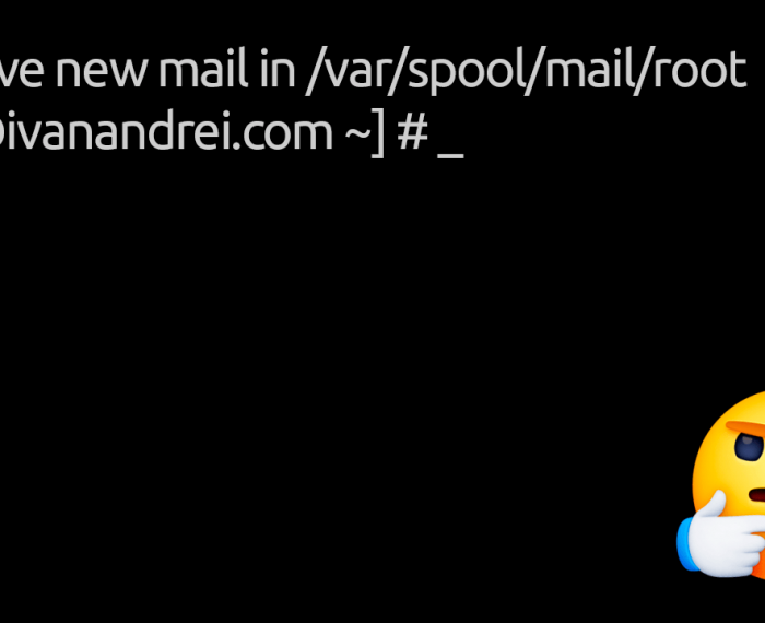 """Leer correos de """"You have new mail in /var/mail/root"""""""