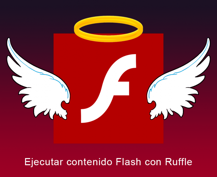 Ejecutar contenido Flash con Ruffle