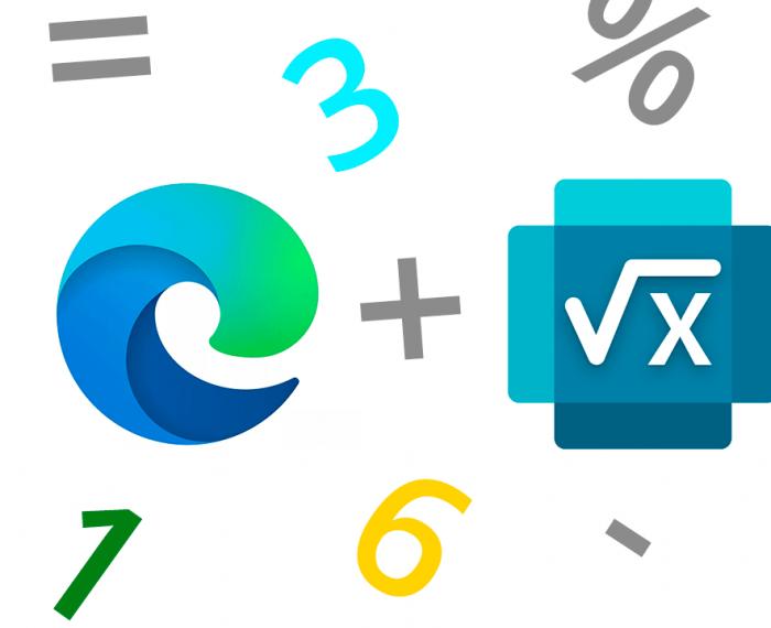 Microsoft Edge con Microsoft Math Solver