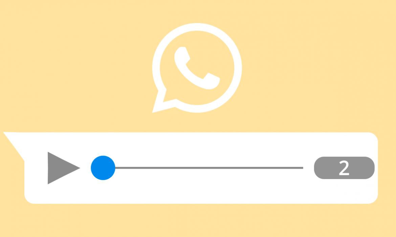 Velocidad de reproducción en audio de WhatsApp