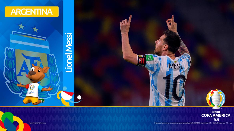 Copa América Brasil 2021 - Selección de Argentina - Lionel Messi