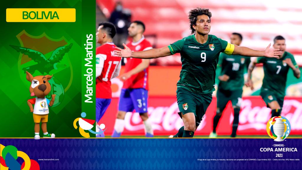 Copa América Brasil 2021 - Selección de Bolivia - Marcelo Martins