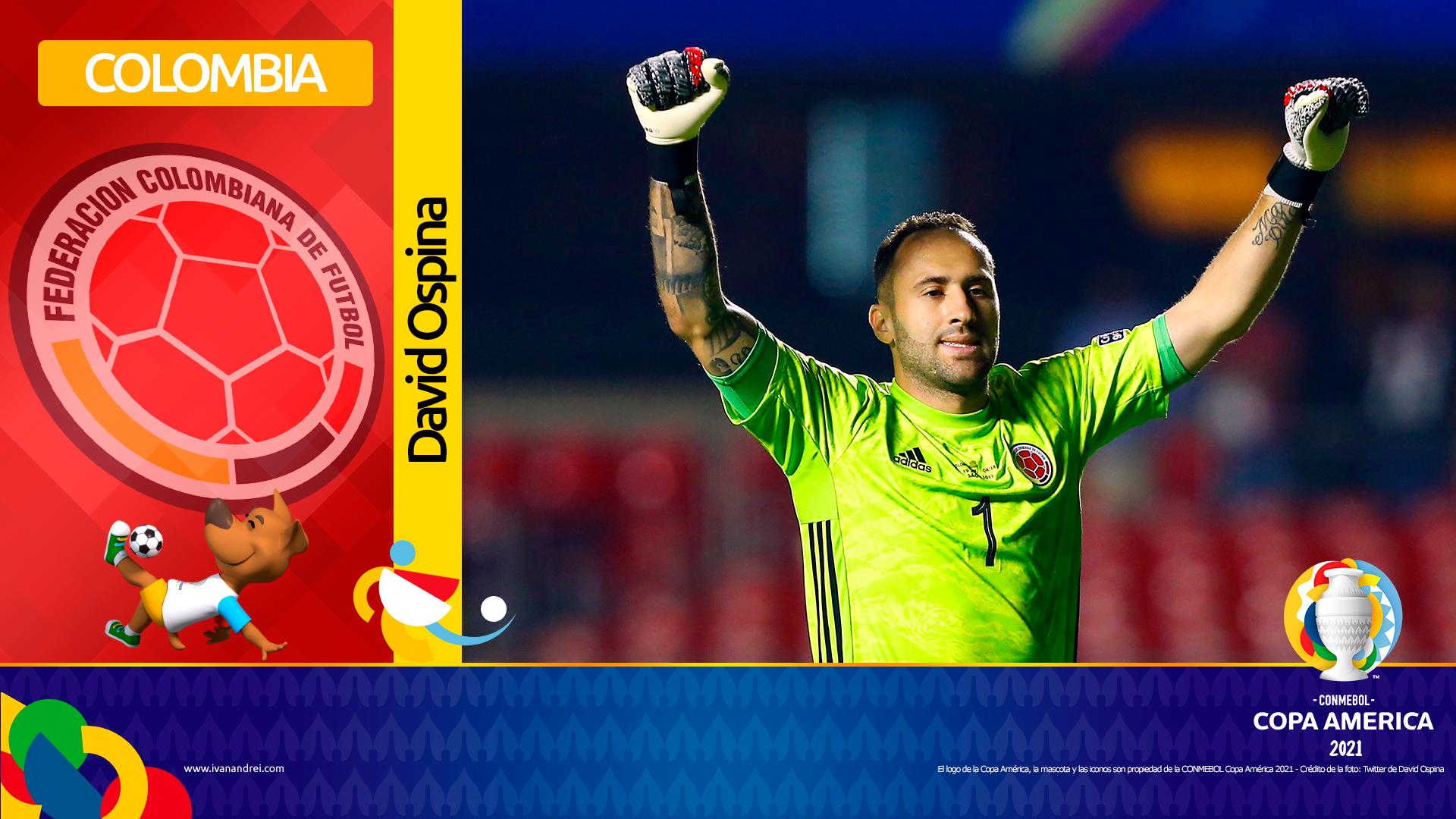 Copa América Brasil 2021 - Selección de Colombia - David Ospina