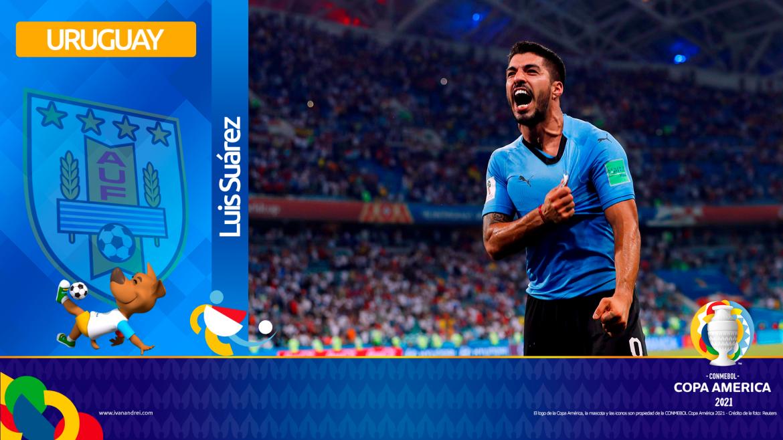 Copa América Brasil 2021 - Selección de Uruguay - Luis Suárez