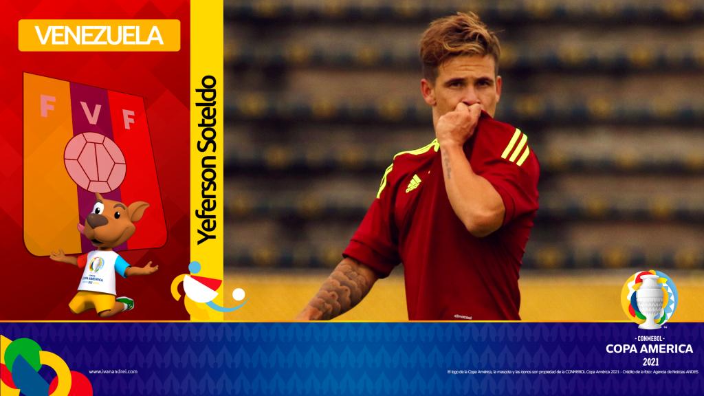 Copa América 2021 - Selección de Venezuela - Yeferson Soteldo