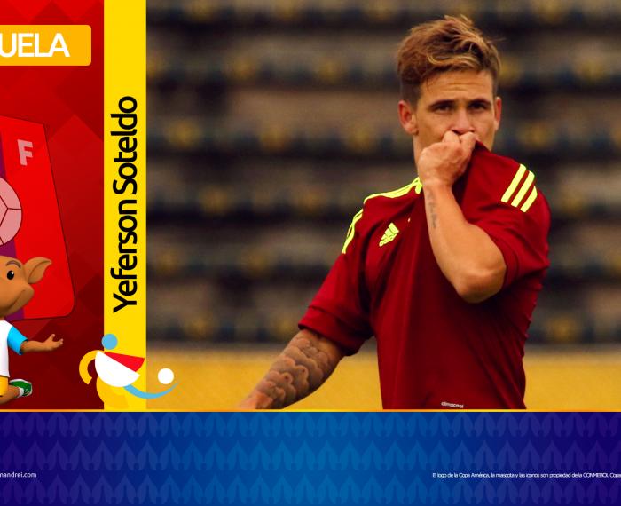 Copa América Brasil 2021 - Selección de Venezuela - Yeferson Soteldo