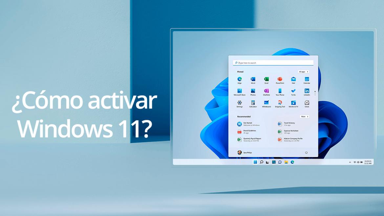 Cómo activar Windows 11