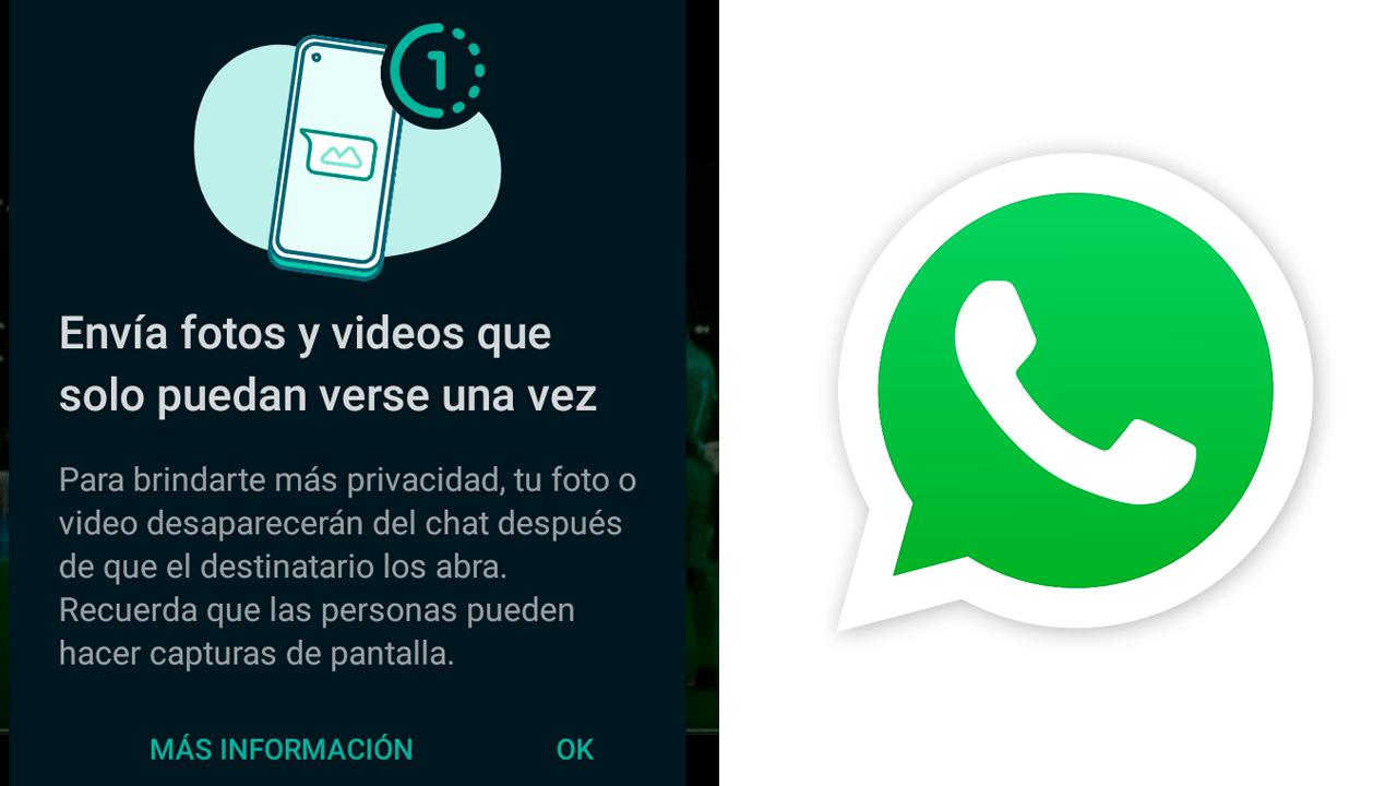 Ver una sola vez en WhatsApp