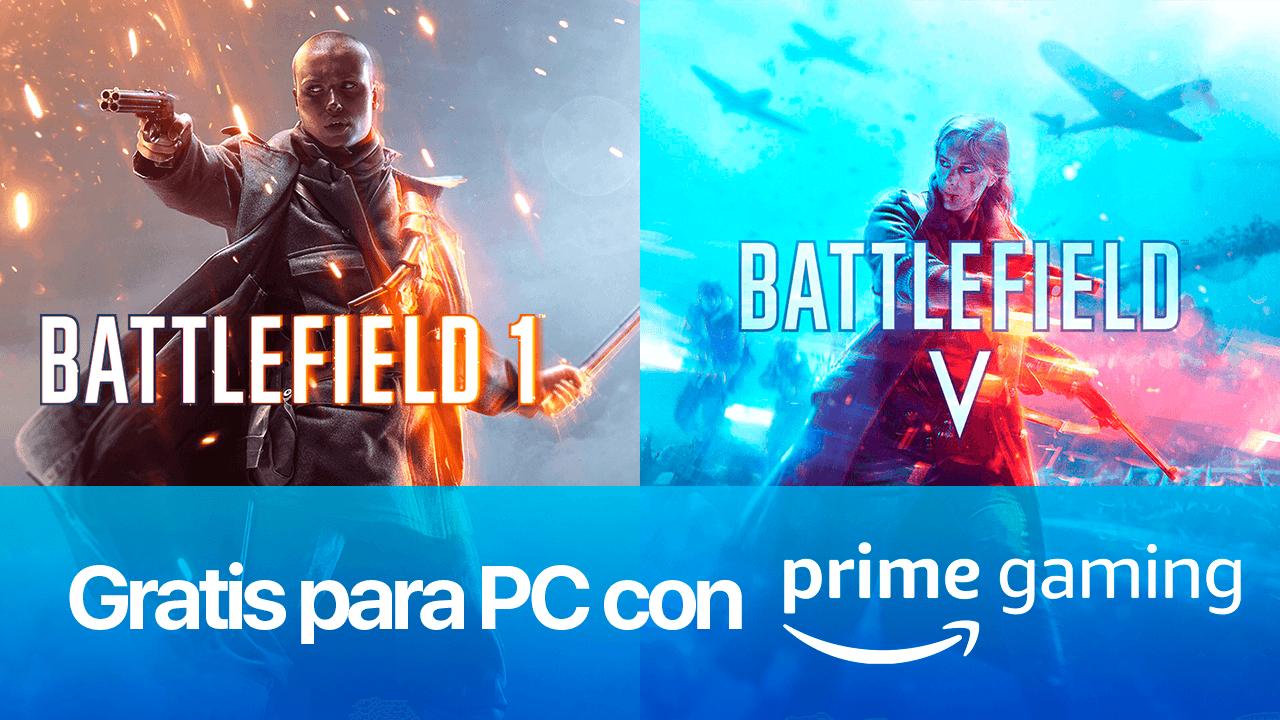Battlefield 1 y Battlefield V para PC gratis