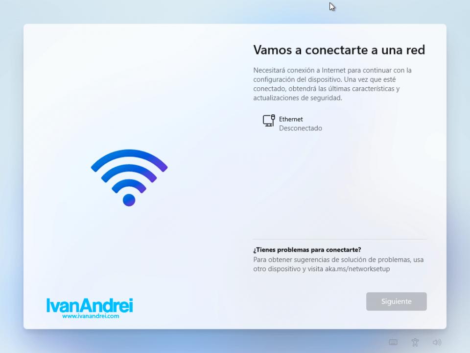 Windows 11 Home Edition sin Internet