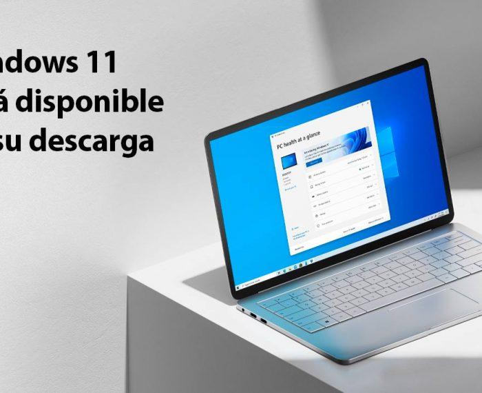 Windows 11 ya está disponible para su descarga